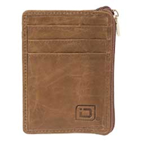 Natural Brown Western Mini Wallet