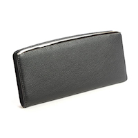 Black Ladies Slim Clutch Wallet